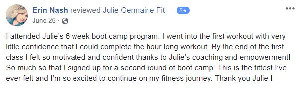 Read Coach Julie Germaine Reviews