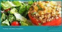 Healthy Turkey Stuffed Peppers