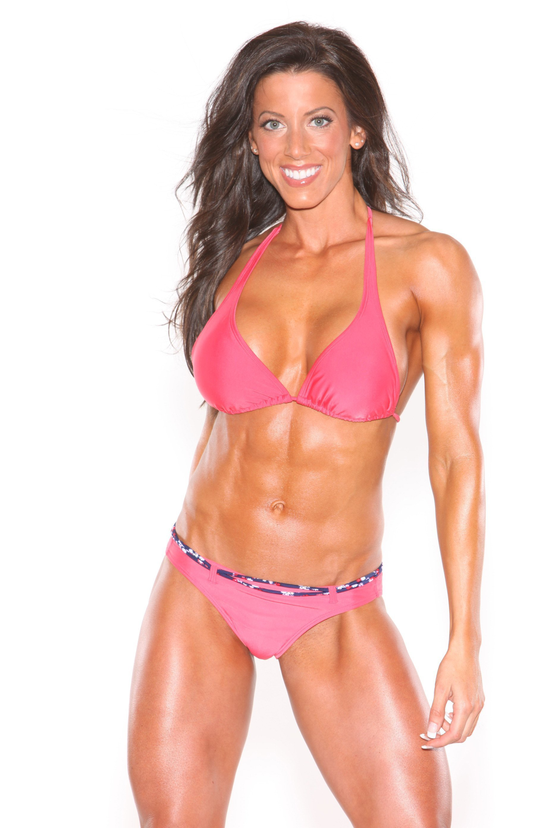 Contest Prep Coach and Top Professional Fitness Model Julie Germaine