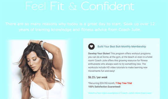 Online Fitness Training for Women